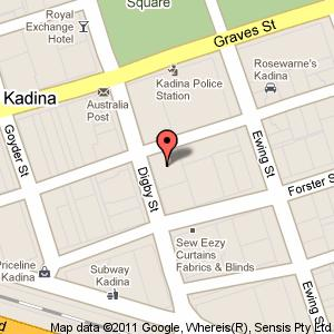 Link to Google maps for 10 Digby Street, Kadina SA 5554