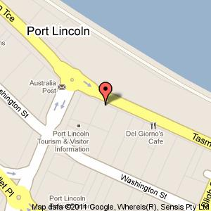 Link to Google maps for 73 to 75 Tasman Terrace, Port Lincoln SA 5606