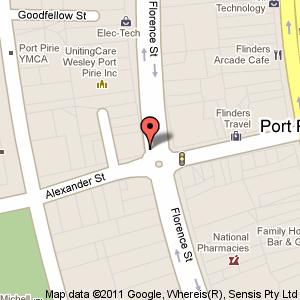 Link to Google maps for 76 Florence Street, Port Pirie SA 5540