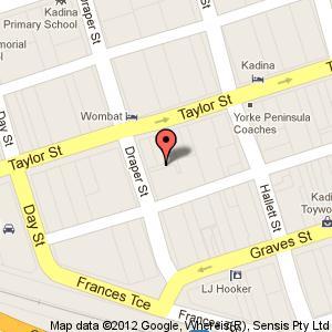 Link to Google maps for 4a Draper Street, Kadina SA 5554