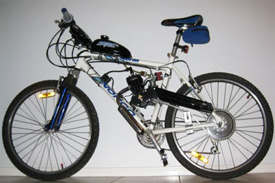 Bike looks like a power assited bike but the motor is too powerful more than 200watts