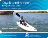 Kyack and canoe safety reference guide cover