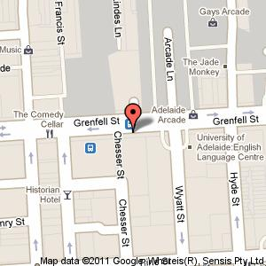 Link to Google maps for 91 Grenfell Street, Adelaide SA 5000
