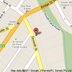 Link to Google maps for Unit 1, number 14 Seventh Street, Gawler South SA 5118