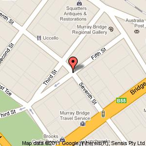 Link to Google maps for Mobilong House, Seventh Street, Murray Bridge SA 5253