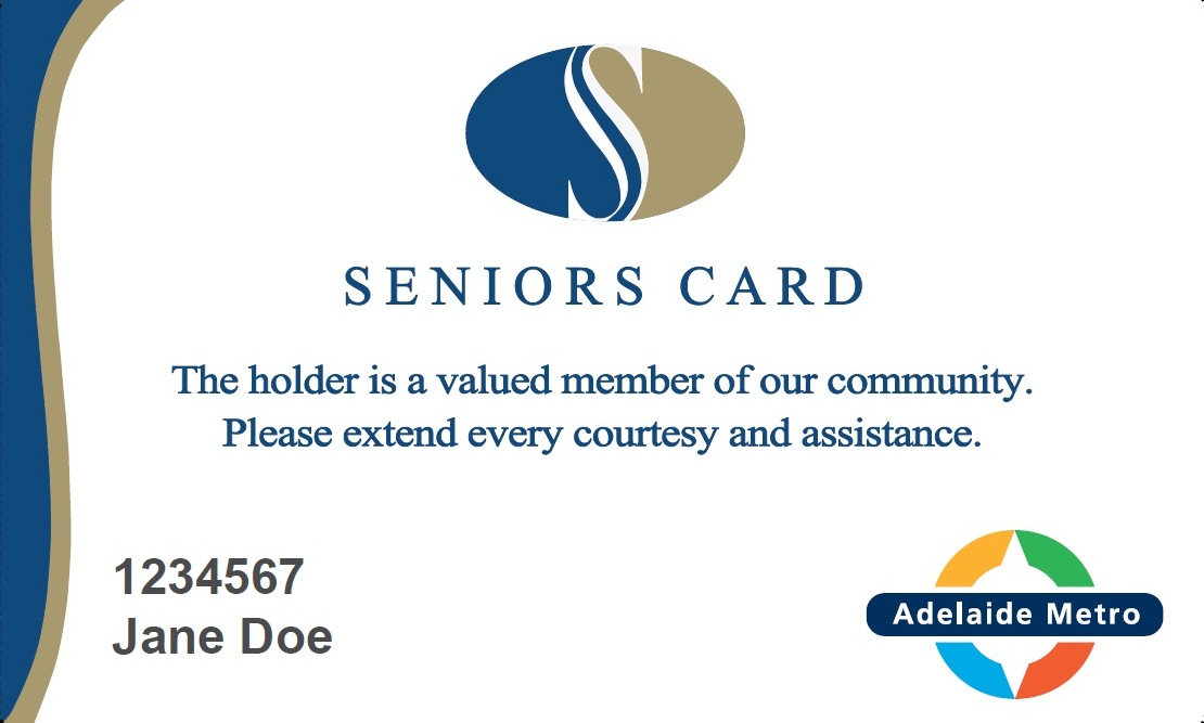Image of a Seniors Card